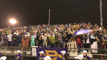 CBHS vs. MUS student section