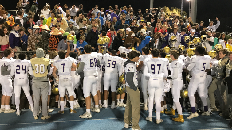 CBHS vs. MUS post game celebration