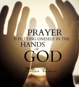 Prayer Hands of God