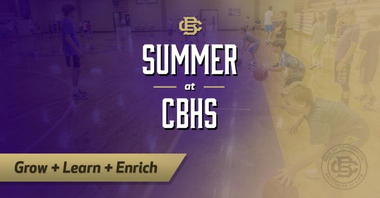 Summer at CBHS ad4