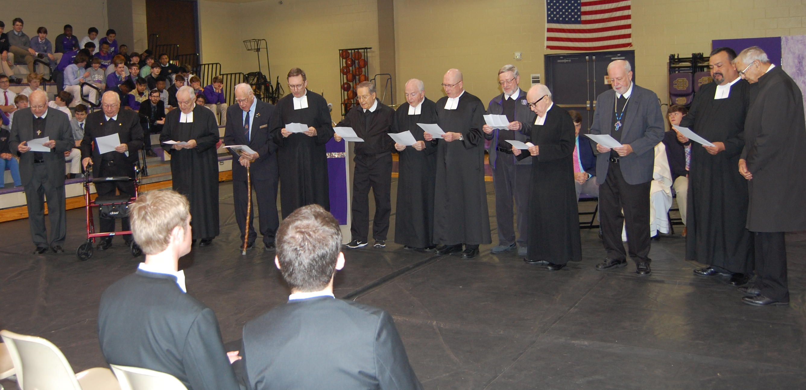 All Brothers renew their vows