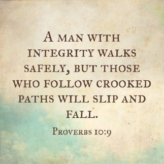 Man with Integrity